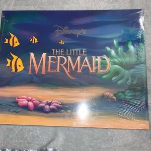Disney The little mermaid lithograph set